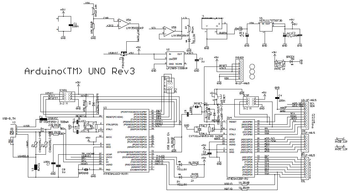 Surprising Arduino Uno R3 Board Diagram Basic Electronics Wiring Diagram Wiring 101 Relewellnesstrialsorg